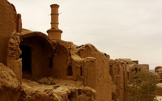 Kharanaq (a four thousand years old village)